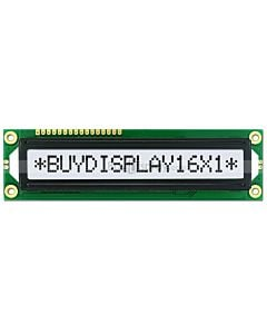 Character 1x16 LCD Display Module HD44780,Price,Black on White