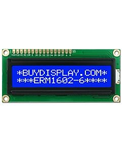 Blue Character 2x16 Modules LCD Display,HD44780 Controller