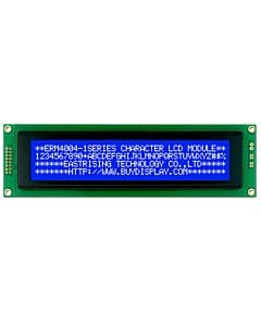 Character Arduino 40x4 LCD Display Datasheet,KS0066,White on Blue