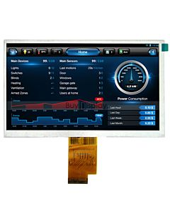 AT070TNA2 Color 7 inch 1024x600 Touchscreen TFT LCD Panel