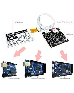 Connect Black 2.7 inch e-Paper Display to Arduino