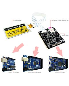 Connect Yellow 2.6 inch e-Paper Display Panel to Arduino