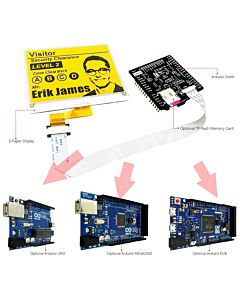 Connect Yellow 4.2 inch e-Paper Display Panel to Arduino