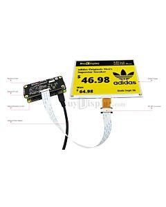 Connect Yellow 5.83 inch 648x480 e-Paper Display Panel to Raspberry Pi Zero