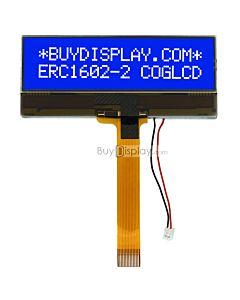 Display Module Blue 16x2 LCD Datasheet PDF,Price,White LED Backlight
