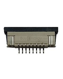 8 Pins 1.0mm Pitch Bottom Contact  ZIF Connector,FPC Connector