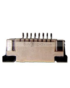8 Pins 1.0mm Pitch Top Contact  ZIF Connector,FPC Connector