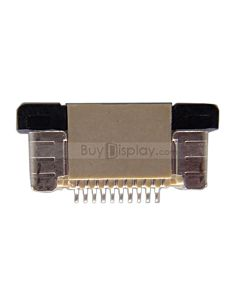 10 Pin 0.5mm Pitch Top Contact  ZIF Connector,FPC/FFC Connector