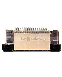 15 Pins 0.5mm Pitch Top Contact  ZIF Connector,FPC Connector