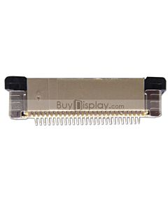 26 Pin 0.5mm Pitch Bottom Contact  ZIF Connector,FPC Connector
