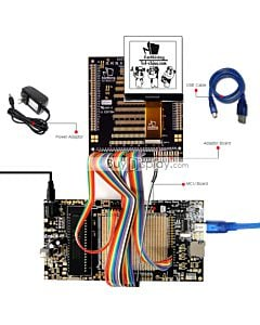 ER-DBC128128-1_MCU 8051 Microcontroller Development Board&Kit for ERC128128-1