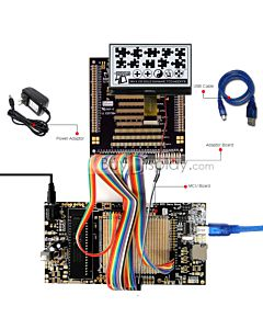 ER-DBC240120-1.1_MCU 8051 Microcontroller Development Board&Kit for ERC240120-1.1