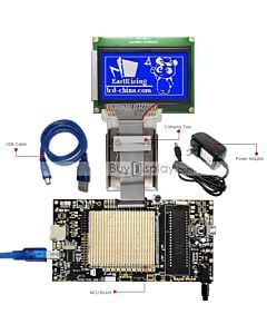 ER-DBM12864-2_MCU 8051 Microcontroller Development Board&Kit for ERM12864-2