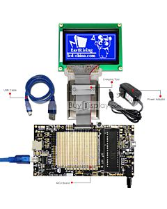 ER-DBM12864-6_MCU 8051 Microcontroller Development Board&Kit for ERM12864-6