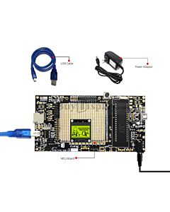 8051 Microcontroller Development Board for Graphic Display Module ERM12864-8