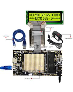 ER-DBM1602-1_MCU 8051 Microcontroller Development Board&Kit for ERM1602-1