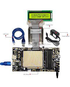 ER-DBM1602-5_MCU 8051 Microcontroller Development Board&Kit for ERM1602-5