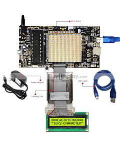 Demo Board for COG 16x2 Character LCD Module Display ERC1602-2
