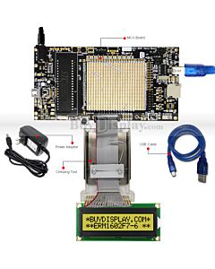 ER-DBM1602A1-6_MCU 8051 Microcontroller Development Board&Kit for ERM1602F7-6