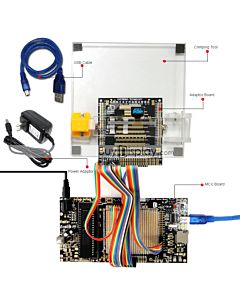 ER-DBO0.49-1_MCU 8051 Microcontroller Development Board&Kit for ER-OLED0.49-1