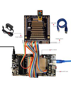 ER-DBO0.60-1_MCU 8051 Microcontroller Development Board&Kit for ER-OLED0.60-1