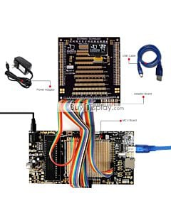 ER-DBO013A1-1_MCU 8051 Microcontroller Development Board&Kit for ER-OLED013-1