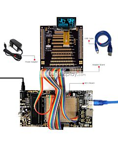 ER-DBO015-2_MCU 8051 Microcontroller Development Board&Kit for ER-OLED015-2