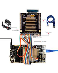 ER-DBO018-1_MCU 8051 Microcontroller Development Board&Kit for ER-OLED018-1