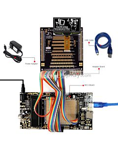ER-DBO024-2_MCU 8051 Microcontroller Development Board&Kit for ER-OLED024-2
