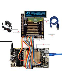 ER-DBO032-1_MCU 8051 Microcontroller Development Board&Kit for ER-OLED032-1