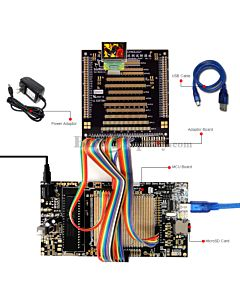 ER-DBO1.27-1_MCU 8051 Microcontroller Development Board&Kit for ER-OLED1.271