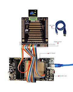 ER-DBO1.45-1_MCU 8051 Microcontroller Development Board&Kit for ER-OLED1.45-1C