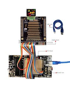ER-DBO1.69-1_MCU 8051 Microcontroller Development Board&Kit for ER-OLED1.69-1C