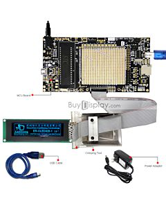 ER-DBOM028-1_MCU 8051 Microcontroller Development Board&Kit for ER-OLEDM028-1