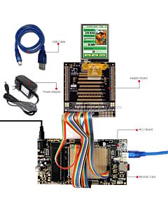 8051 Microcontroller Development Board&Kit for ER-TFT028-4