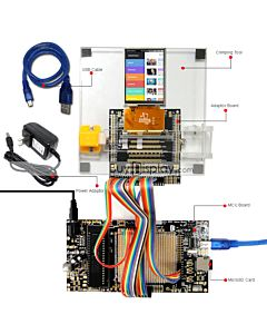 ER-DBT032-2_MCU 8051 Microcontroller Development Board&Kit for ER-TFT032-2