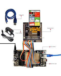 ER-DBT035-6_8051 Microcontroller Development Board&Kit for ER-TFT035-6