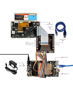 ER-DBT039-1_MCU 8051 Microcontroller Development Board&Kit for ER-TFT039-1