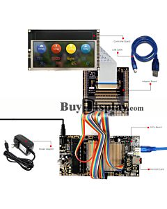 8051 Microcontroller Development Board&Kit for ER-TFT050-3