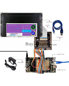 ER-DBT065-1_MCU 8051 Microcontroller Development Board&Kit for ER-TFT065-1