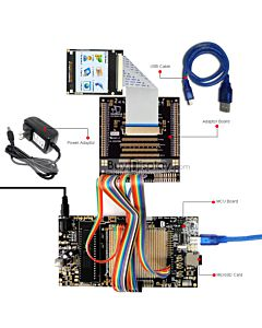 8051 Microcontroller Development Board&Kit for ER-TFTM022-1