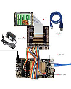 8051 Microcontroller Development Board&Kit for ER-TFTM028-4