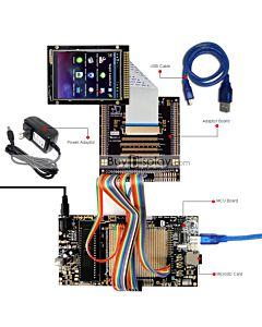 ER-DBTM032-3_MCU 8051 Microcontroller Development Board&Kit for ER-TFTM032-3