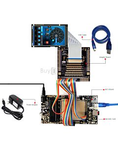 ER-DBTM035-6_MCU 8051 Microcontroller Development Board&Kit for ER-TFTM035-6