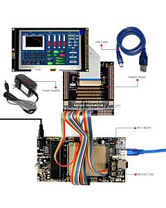 ER-DBTM043-4_MCU 8051 Microcontroller Development Board&Kit for ER-TFTM043-4