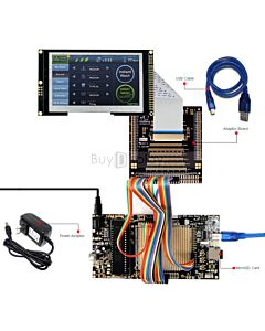 ER-DBTM043A2-7R_MCU 8051 Microcontroller Development Board&Kit for ER-TFTM043A2-7R