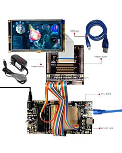 ER-DBTM050-3_MCU 8051 Microcontroller Development Board&Kit for ER-TFTM050-3