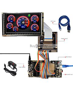 ER-DBTM070-4_MCU 8051 Microcontroller Development Board&Kit for ER-TFTM070-4V2.1