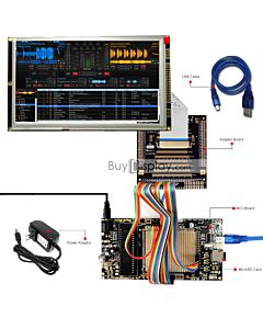 ER-DBTM080-1_MCU 8051 Microcontroller Development Board&Kit for ER-TFTM080-1