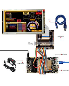 ER-DBTM080-2_MCU 8051 Microcontroller Development Board&Kit for ER-TFTM080-2